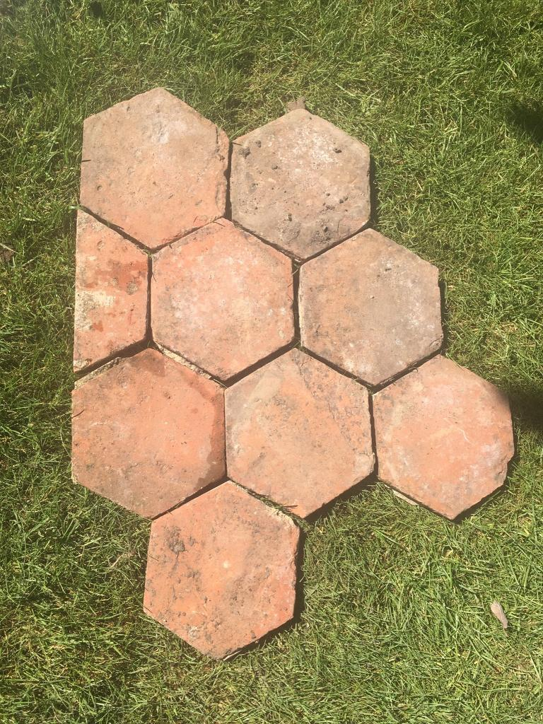 Reclaimed Hexagonal Terracotta Floor Tiles In Sidcup London Gumtree