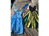 Disney princess dresses - age 5-6