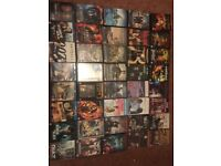 40 DVD's & Blu-rays