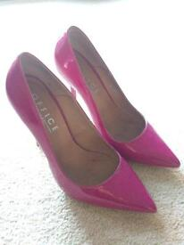 Pink pointed toe stiletto from Office, size 5