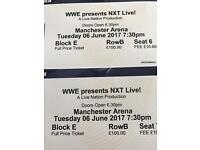 FACEVALUE X2 ringside WWE NXT tickets