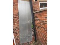 Three Metal sheet for boarding window and door