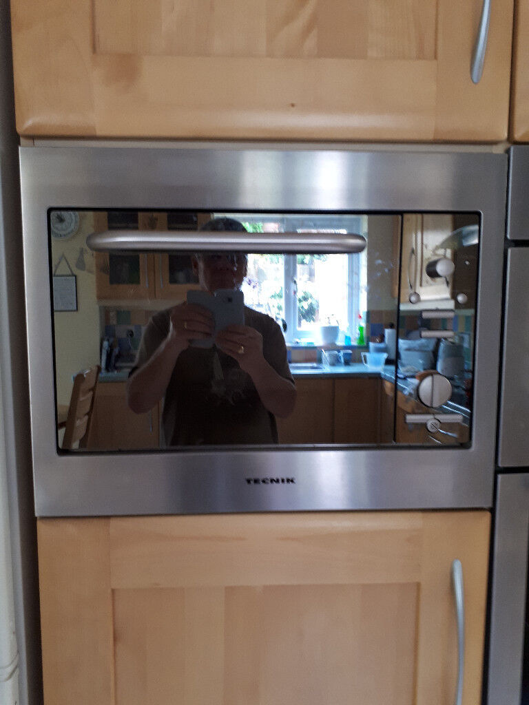 Used Tecnik Integrated Microwave with Grill