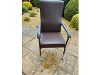 Adjustable High Backed Chair