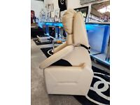 Electric rise tilt and recline armchair dual motor