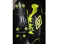 Umbro football boots size 7.5 good condition