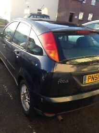 Ford Focus 51 plate