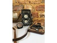 Rolleiflex 3.5F - TLR - Planar 75mm - metered - great condition