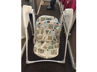 Grace baby swing suitable from birth