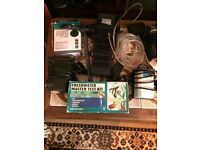 Bundle 1 of aquarium fish gear for sale - filters - medications