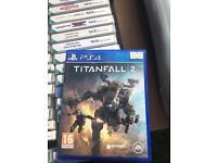 Titan fall 2 PS4 game