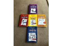 Diary of a Wimpy Kid Books Bundle
