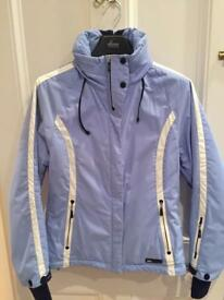 Pale Blue Killy Ski Jacket Women's Size 12