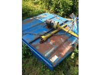Topper mower tractor 6ft