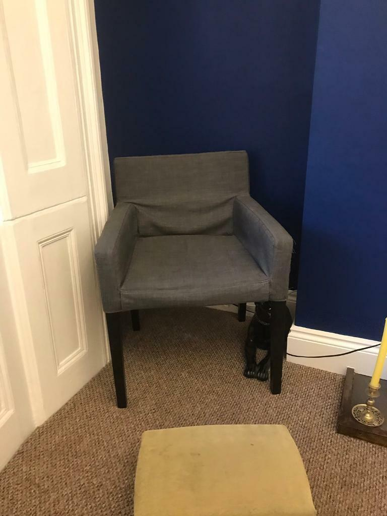 Sensational Free Ikea Grey Accent Chair In Islington London Gumtree Gamerscity Chair Design For Home Gamerscityorg
