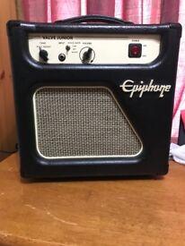 Epiphone Valve Junior guitar amp. BitMo mods.