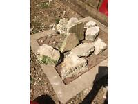 Stones/ rocks for rockery/ garden