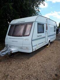 4 birth 2005 Coachman pastiche caravan