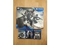 PS4 Destiny 2 Bundle in excellent condition with 1 controller, 2 games, boxed, 500GB