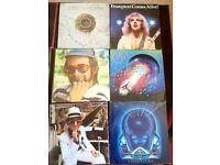 Rock vinyl albums for sale