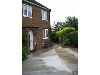 Delightful 2 bed semi with larger than average garden