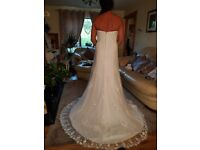 BRAND NEW size 12 ivory SINCERITY wedding dress
