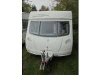 2010 Lunar Quasar 524 - 4 Berth Touring Caravan With Dinette And Large Rear Washroom