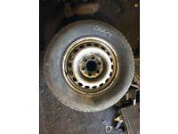 Mercedes Sprinter VW Crafter 235/65/16C Steel Wheel