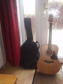 Grafter Guitar with cover NEW I am seeling this CHEAP