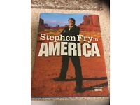 Steven Fry in America. Follow his journey across America that follows the BBC series. A great read.