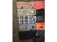 Joblot of men's small shirts etc..