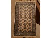 Silk rug 108 x 65cm