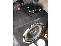 1050 watt vibe amp and sub