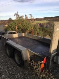 Ifor Williams GH1054BT Plant Trailer SOLD £1395 + VAT (£1674)