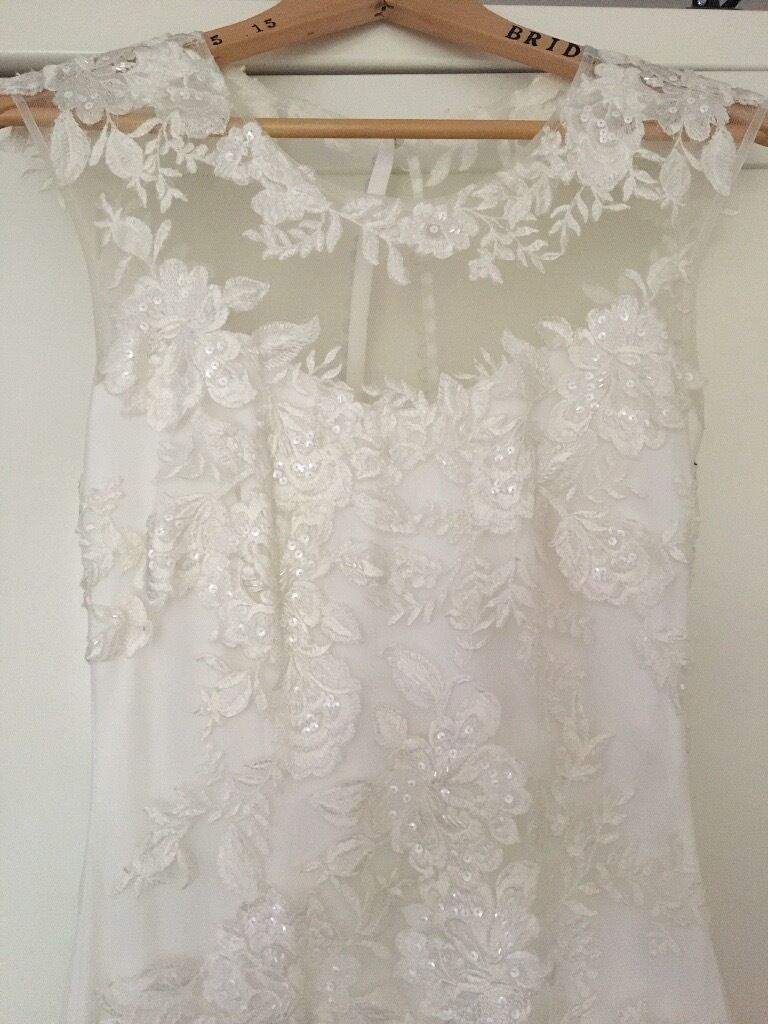 Wedding dress phase eight josephina size 8 in for Phase eight wedding dress