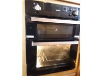 Thetford oven in narrow boat 2 years old fully working and clean gas grill separate to oven