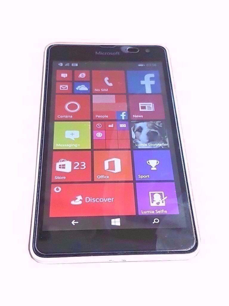 "MICROSOFT LUMIA 535 SMARTPHONE (Locked Vodafone Networkin Stoke on Trent, StaffordshireGumtree - Nokia Lumia 535 SMARTPHONE ORIGINAL BOX ORIGINAL CHARGER 5"" SCREEN SIZE 5 MP CAMERA 8 GB STORAGE 1 GB RAM 1.2 GHZ PROCESSOR WINDOWS OPERATING SYSTEM COMES WITH SCREEN PROTECTOR PHONE IS LOCKED TO VODAFONE NETWORK"