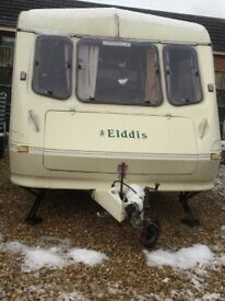 Elddis mistral XL 1992 2 berth