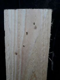 Reclaimed timber. Nominal dimensions are 100mm X 22mm X 5000mm.