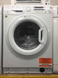 Hotpoint white good looking 9kg 1400spin A++ washing machine