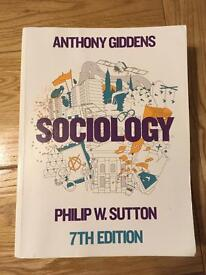 Anthony Giddens: Sociology 7th edition