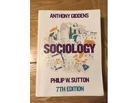 Anthony Giddens: Sociology 7th edition