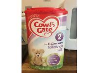 Cow& gate 2 formula