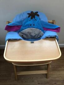 Hauck gamma+ highchair and cover