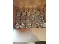 59 jars wedding decorations