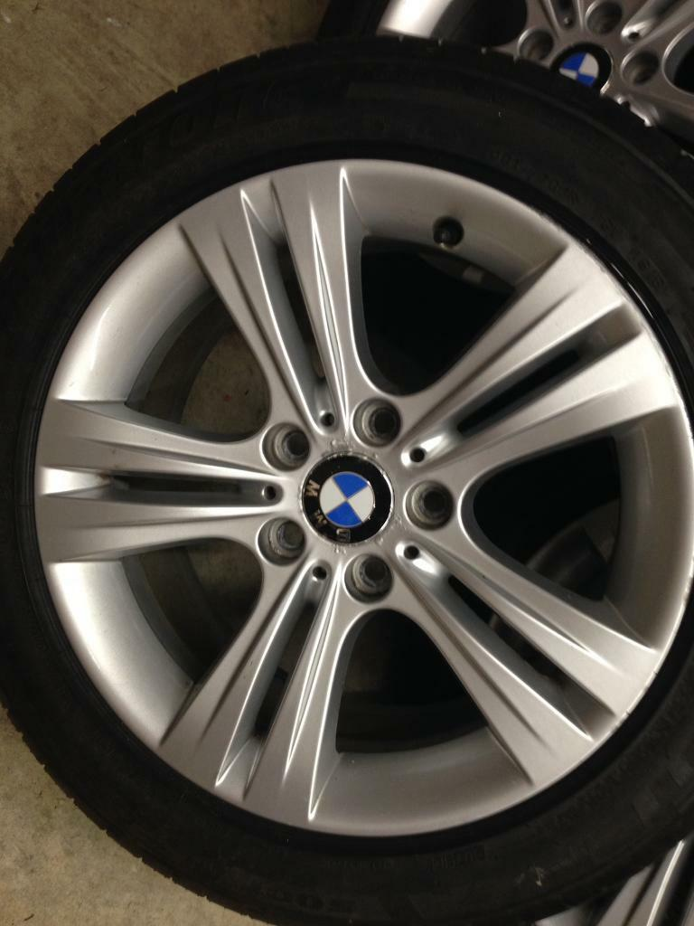 bmw 17 inch f30 e90 e46 392 style alloys wheels with great tyres in banbridge county. Black Bedroom Furniture Sets. Home Design Ideas