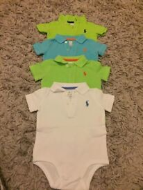 GENUINE RALPH TOPS 3-6 MONTHS