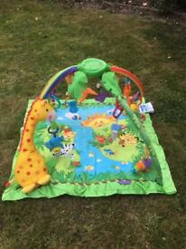 Childs/Baby's soft floor musical activity play mat gym for sale £20