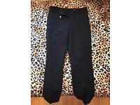 Navy Topshop trousers