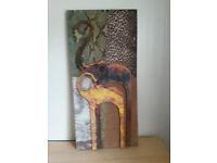 Canvas - Elephants/Africa